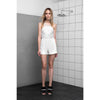 Breeze Through Romper, White