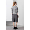 City Runner Sweater, Grey/White