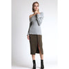 Lilian Knit Sweater, Heather Grey