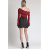 Lilian Knit Sweater, Brick Red