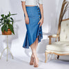 Adela Skirt, Blue