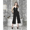 Powder Room Jumpsuit, Black