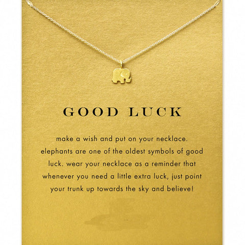 Good Luck Elephant Pendant Necklace - EpicGearCenter