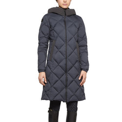 Cavalleria Toscana Quilted Hooded Long Parka