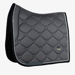 PS Of Sweden Dressage Saddle Pad Monogram  - Anthracite