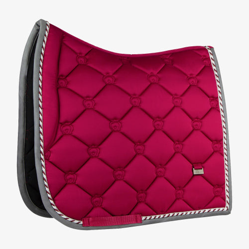 PS Of Sweden Dressage Saddle Pad Monogram  - Scarlet