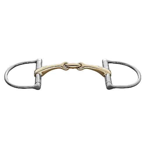 Sprenger RS Dee Ring Snaffle - Double Joint