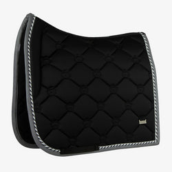 PS Of Sweden Dressage Saddle Pad Monogram  - Black