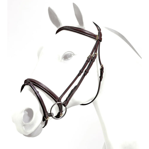 Emporio Fancy Stiched  Hanoverian Bridle