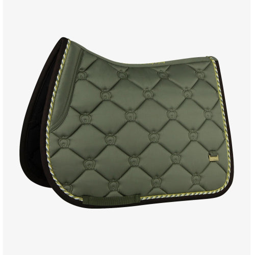 PS Of Sweden Jump Saddle Pad Monogram  - Moss