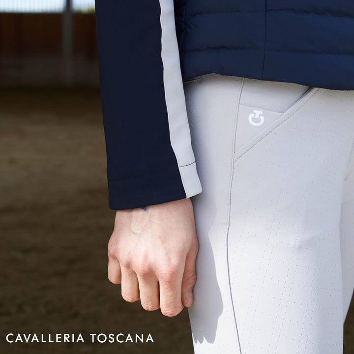 Cavalleria Toscana Square Perforated Breeches