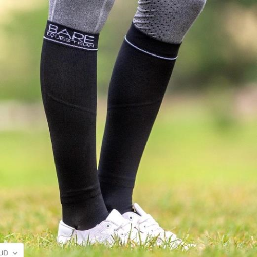 BARE Compression Logo Socks - Youth