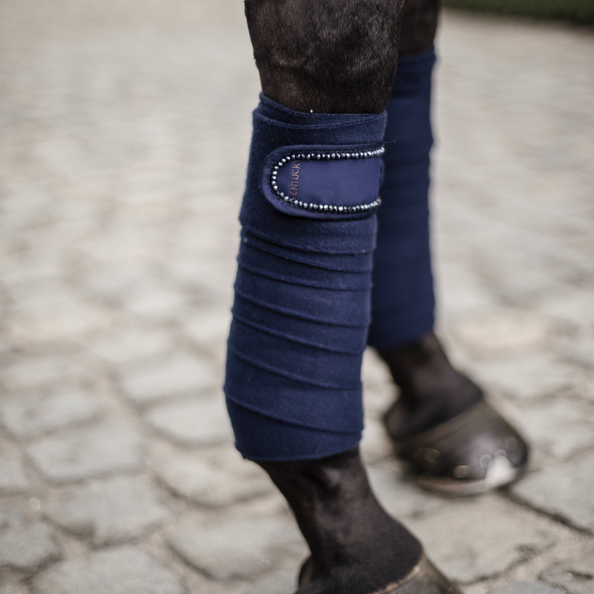 Kentucky Polar Fleece Bandages - Pearls