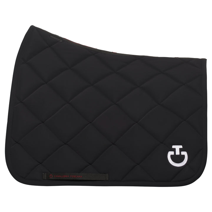 Cavalleria Toscana Rhombi Quilted Saddle Pad - Dressage
