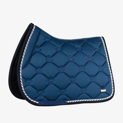 PS Of Sweden Jump Saddle Pad Monogram  - Neptuna