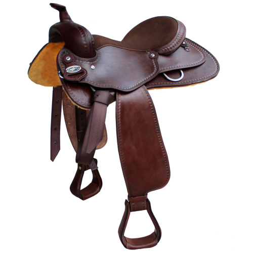 Brad Ren Western Saddle -  Tattini Srl