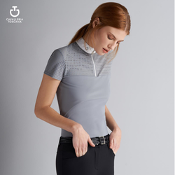 Cavalleria Toscana Big Perforated Polo -  Cavalleria Toscana