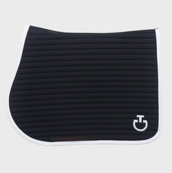 Cavalleria Toscana Jersey Quilted Row Jump Saddle Cloth -  Cavalleria Toscana