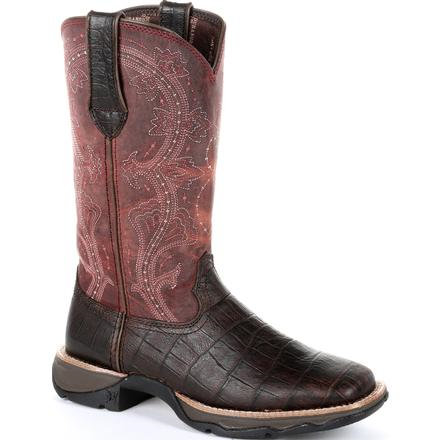 Durango Lady Rebel Gator Embossed Western Boot -  Durango