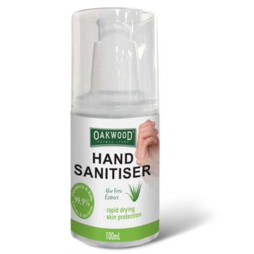 Oakwood Hand Sanitiser Gel