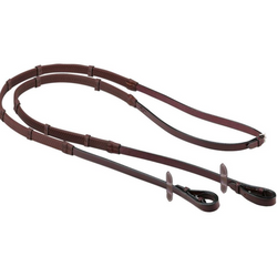 Equipe Emporio Rubber Grip Reins with Notches REE04 -  Equipe