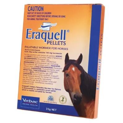 Eraquell Wormer Pellets -  Saddleworld P/L