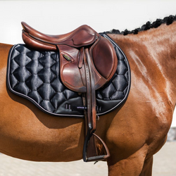 Honeycomb Quilted Satin Saddle Pad - All Purpose -  Comco