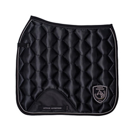 Honeycomb Quilted Satin Saddle Pad - Dressage -  Comco