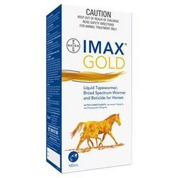 Imax L.V Gold Liquid Wormer 100 ml -  Saddleworld P/L