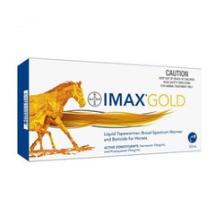 Imax L.V Gold Liquid Wormer 50 ml -  Saddleworld P/L