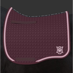 Mattes Eurofit Dressage Plain - Blackberry -  Mattes