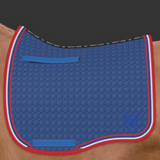 Mattes Eurofit Dressage Plain - Royal -  Mattes