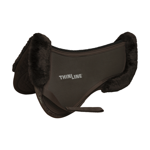 ThinLine Trifecta Cotton Half Pad With Sheepskin Trim -  ThinLine