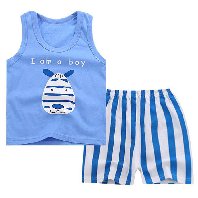 Summer Shirt & Shorts sets kid apparel 3 4 year
