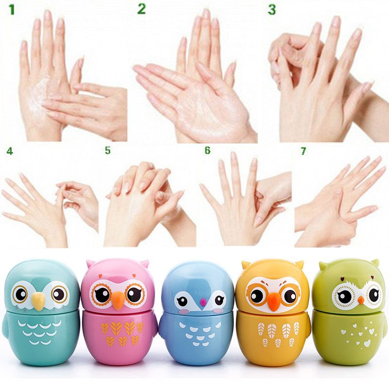 Skincare Cosmetic Owl Hand Lotion Cream