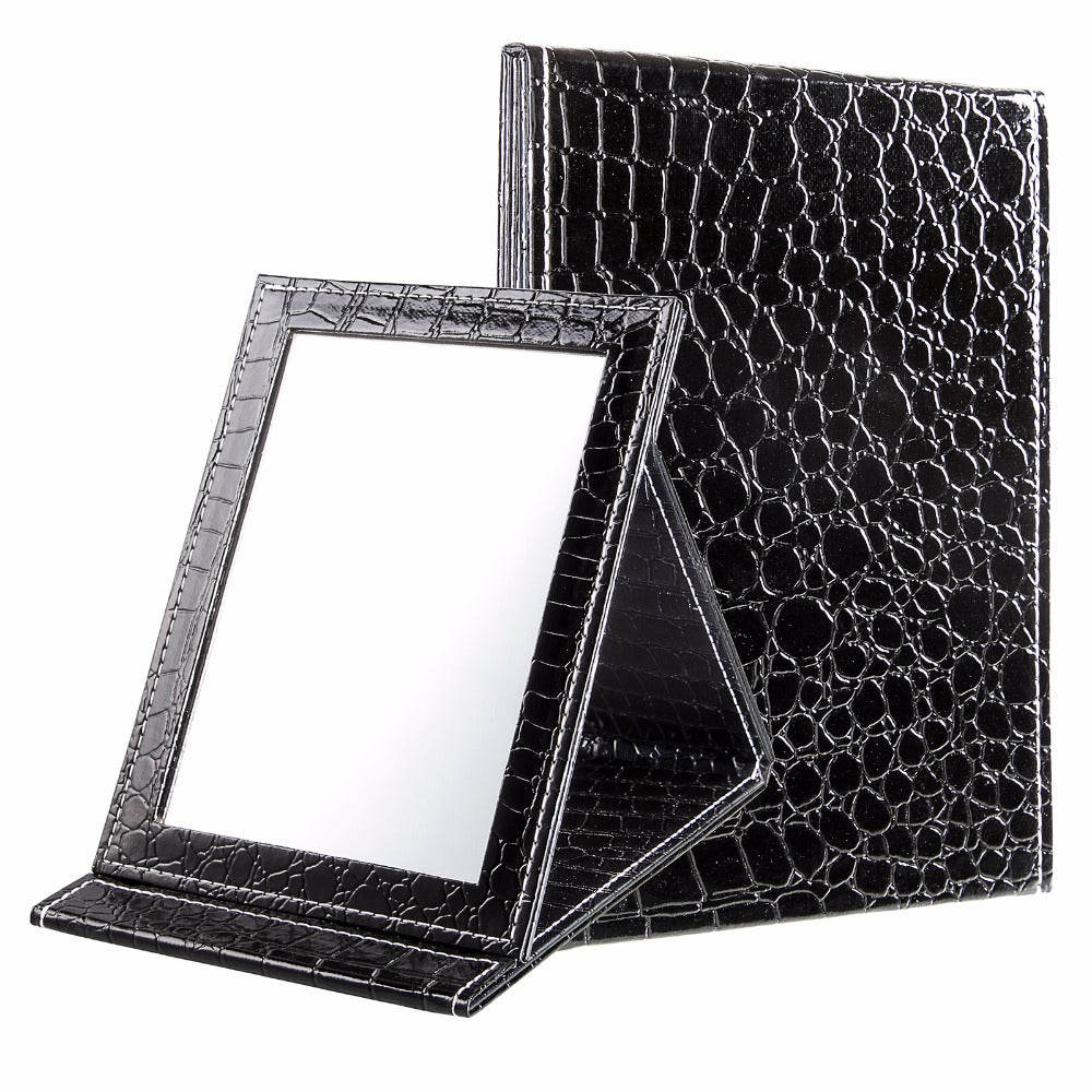 Makeup Mirror Leather Cosmetic for  Women - DoorBusterDirect