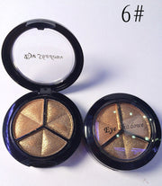 Waterproof Long Lasting Cheap Makeup Shimmer Eyeshadow Palette