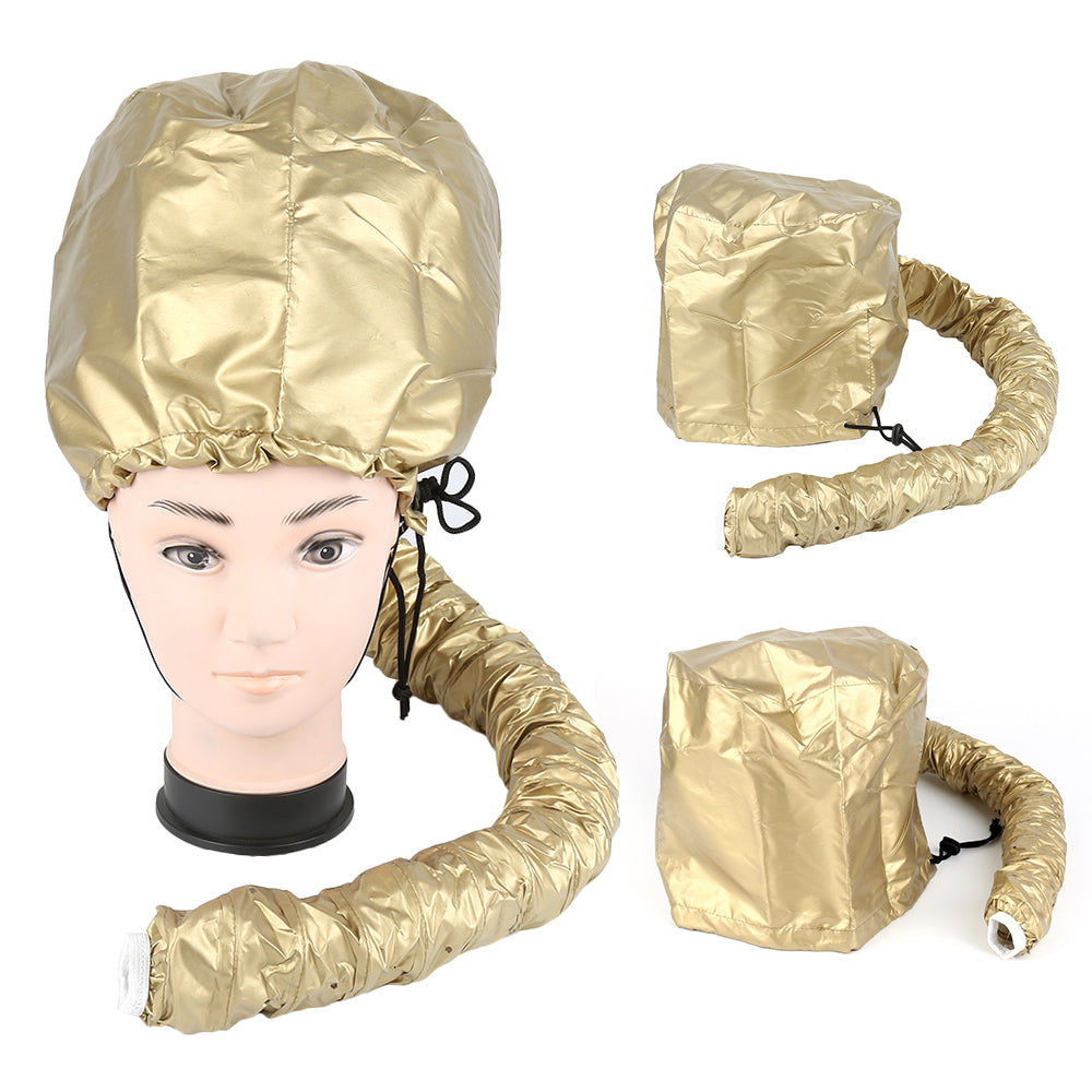 Gold Hood Bonnet Diffuser Attachment Hair Dryer Cap - DoorBusterDirect