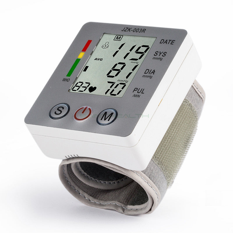 Blood Pressure Monitor Care Meter Digital Wrist Medical Equipment - DoorBusterDirect