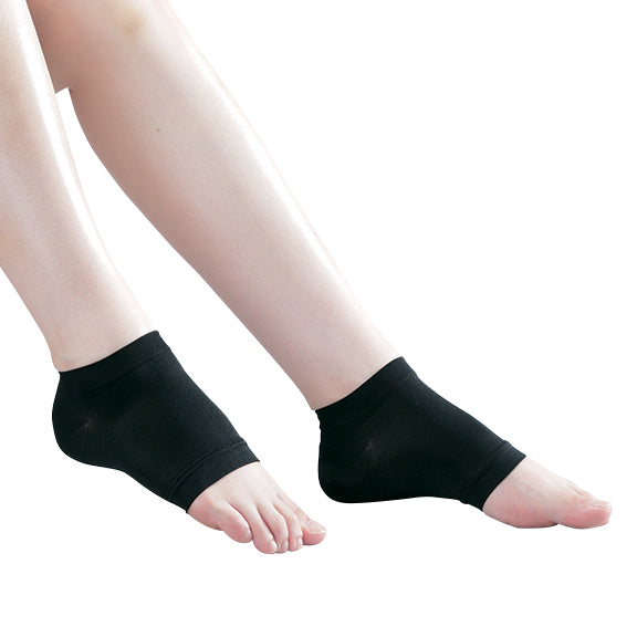 PHITEN COMPRESSION SOCKS HEEL TYPE (OPEN TOE)
