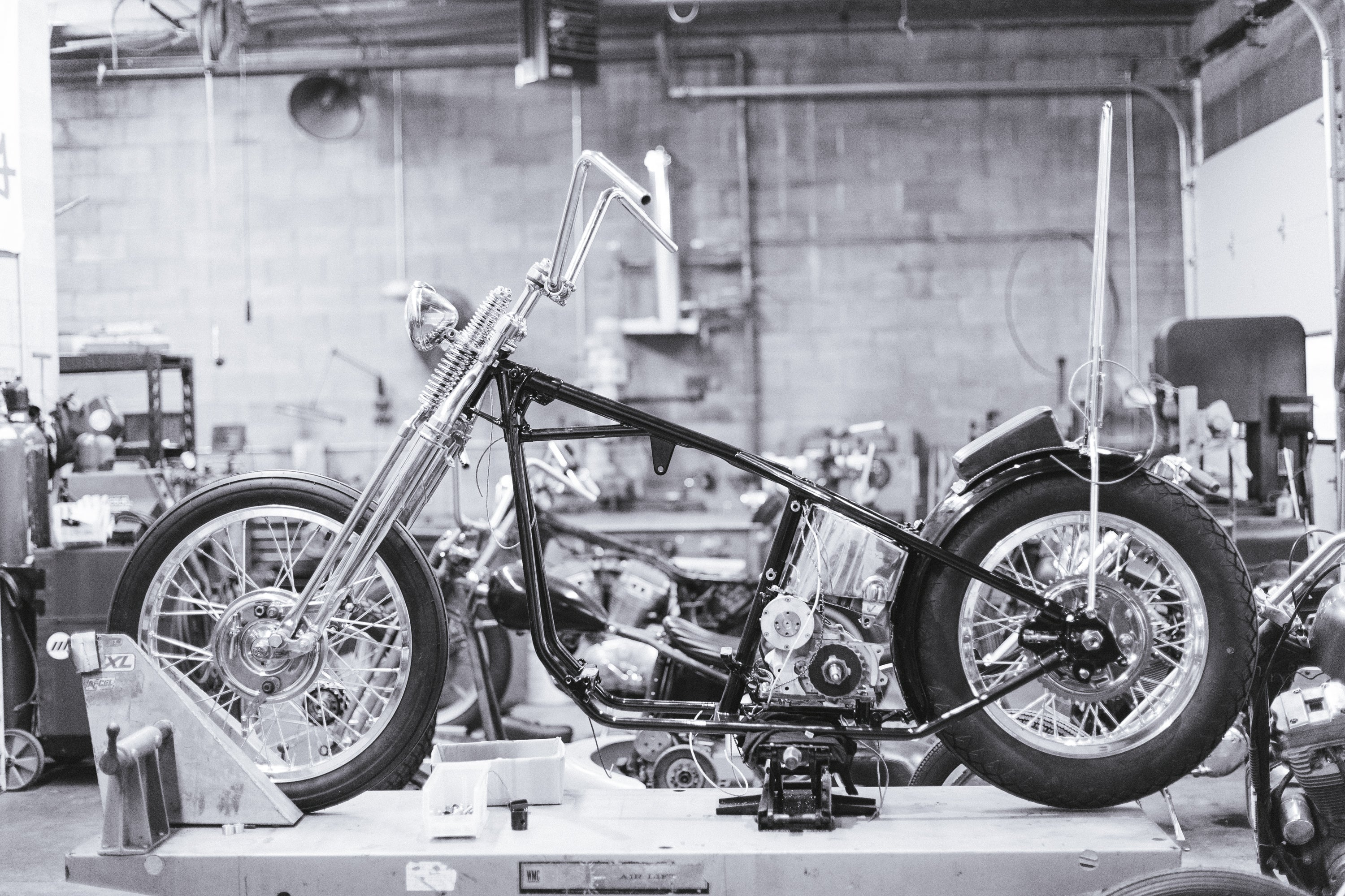 Greg's 1975 Shovelhead – Prism Supply