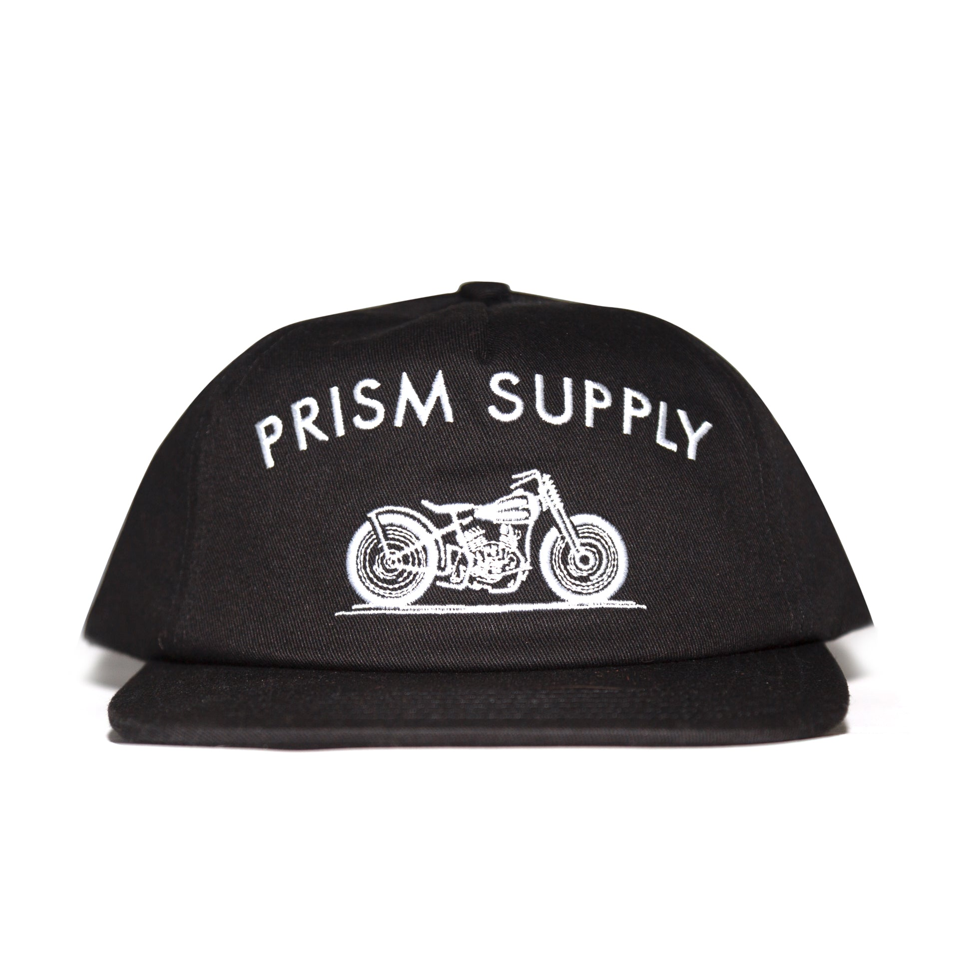 Racer Hat - Black - Apparel and Accessories - Prism Supply