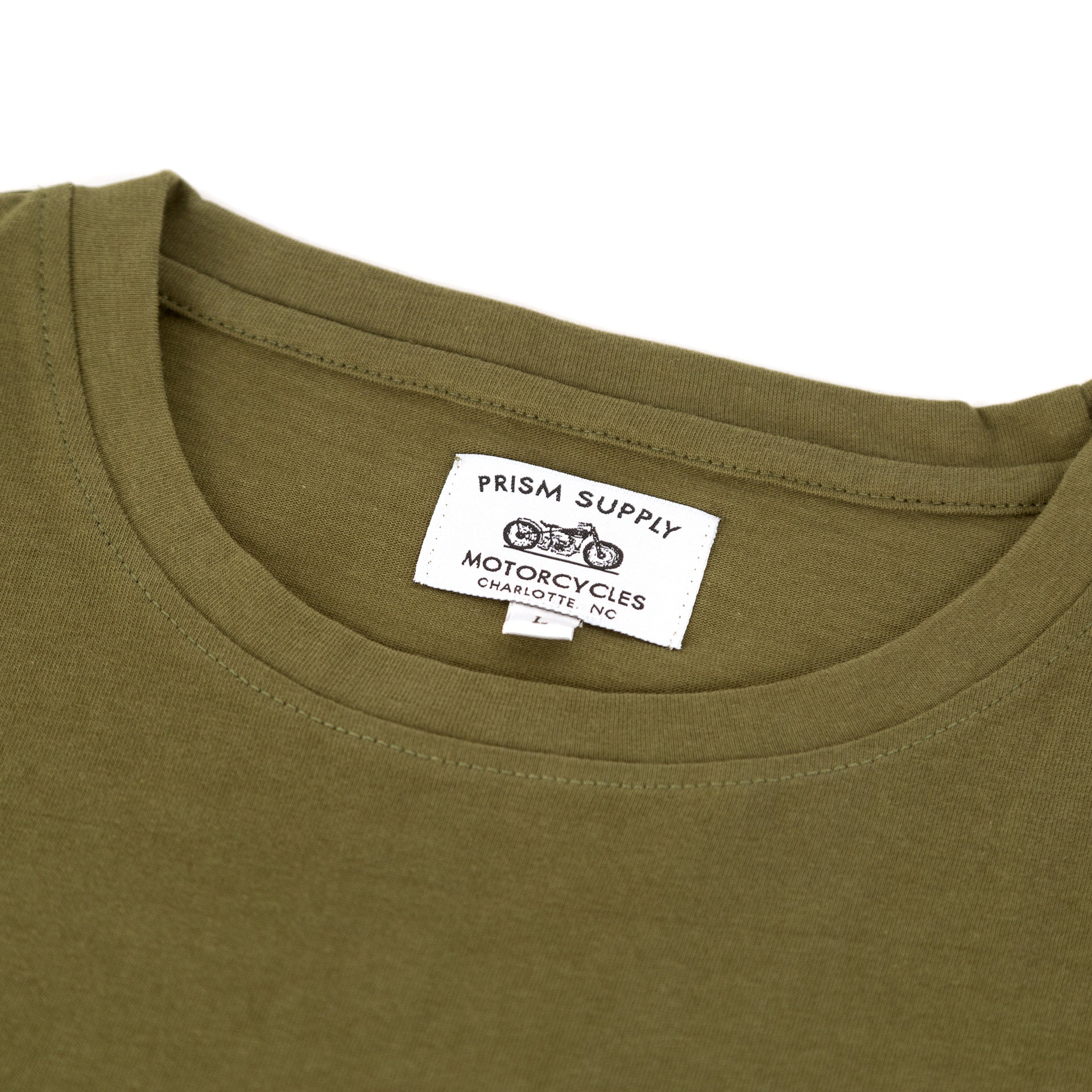 Flatbed Tee - OD Green - Apparel and Accessories - Prism Supply