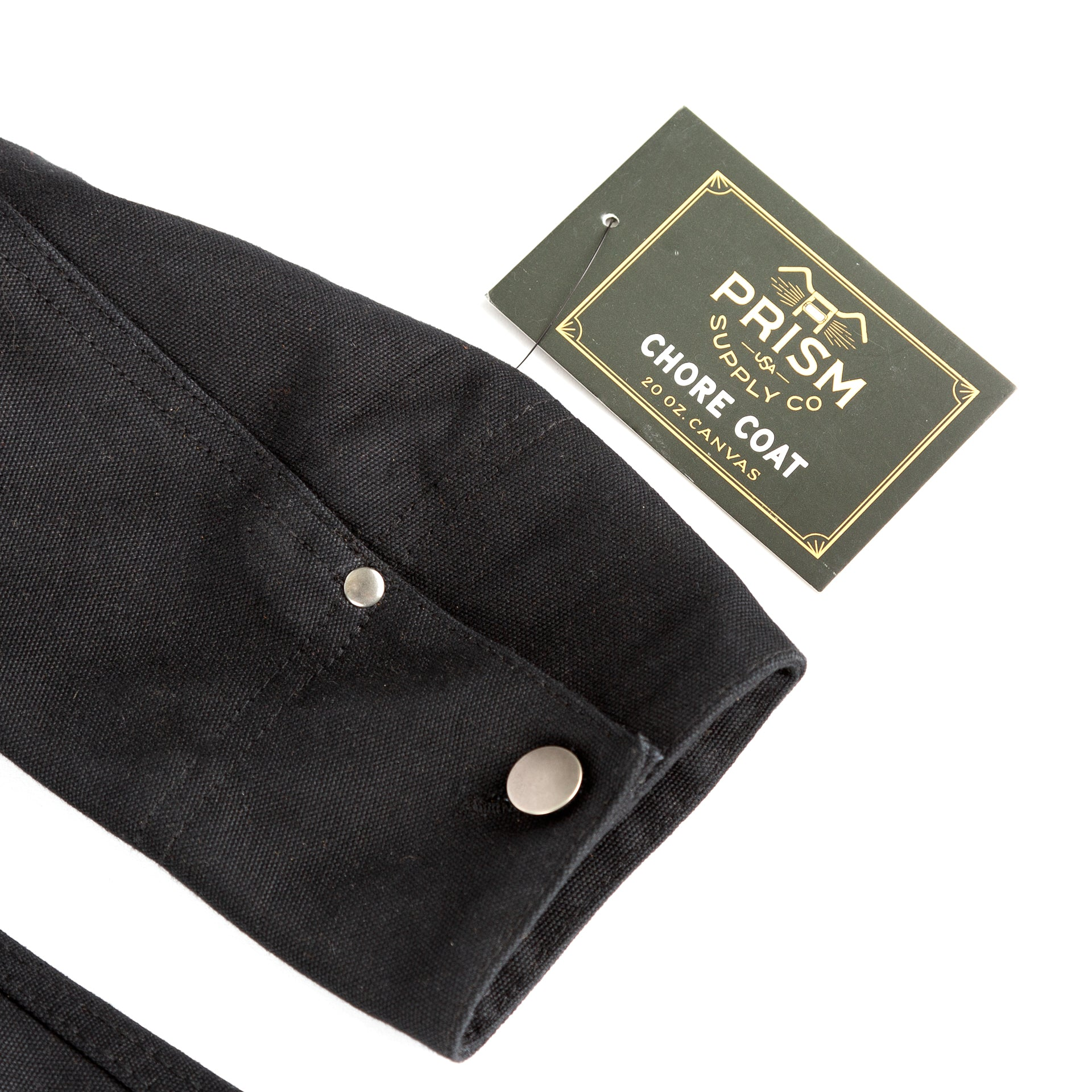 Chore Coat - Black - Apparel and Accessories - Prism Supply