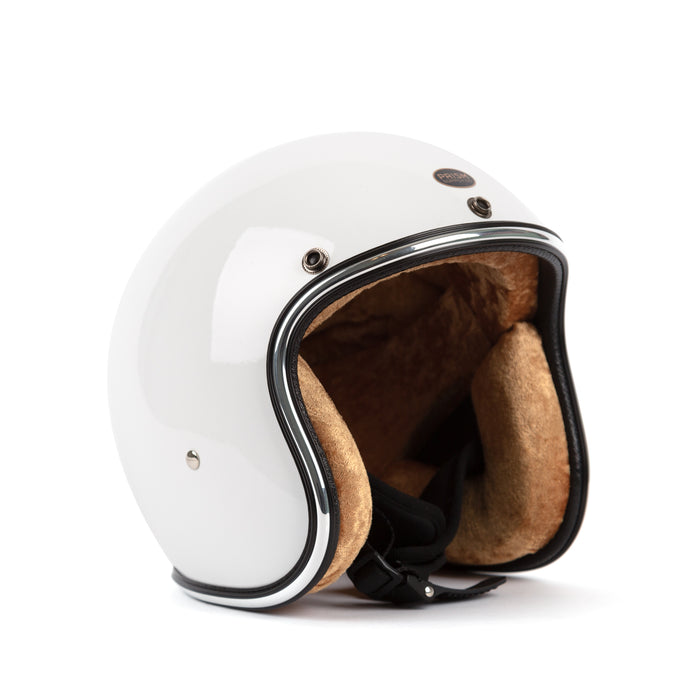 3/4 Novelty Helmet - White - Apparel and Accessories - Prism Supply