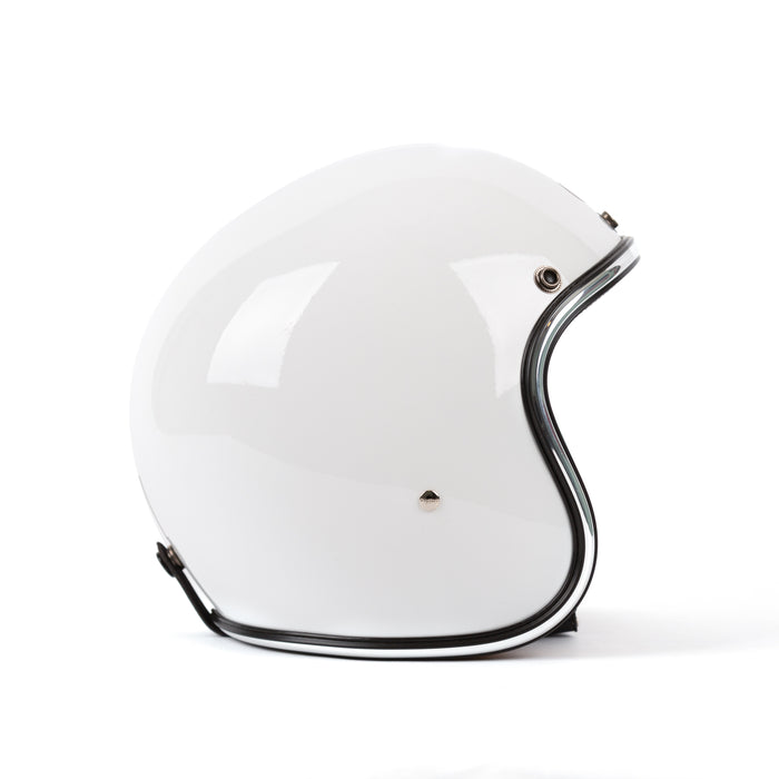 3/4 Helmet, White - Apparel and Accessories - Prism Supply