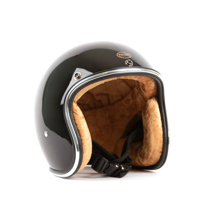 3/4 Helmet, Black - Apparel and Accessories - Prism Supply