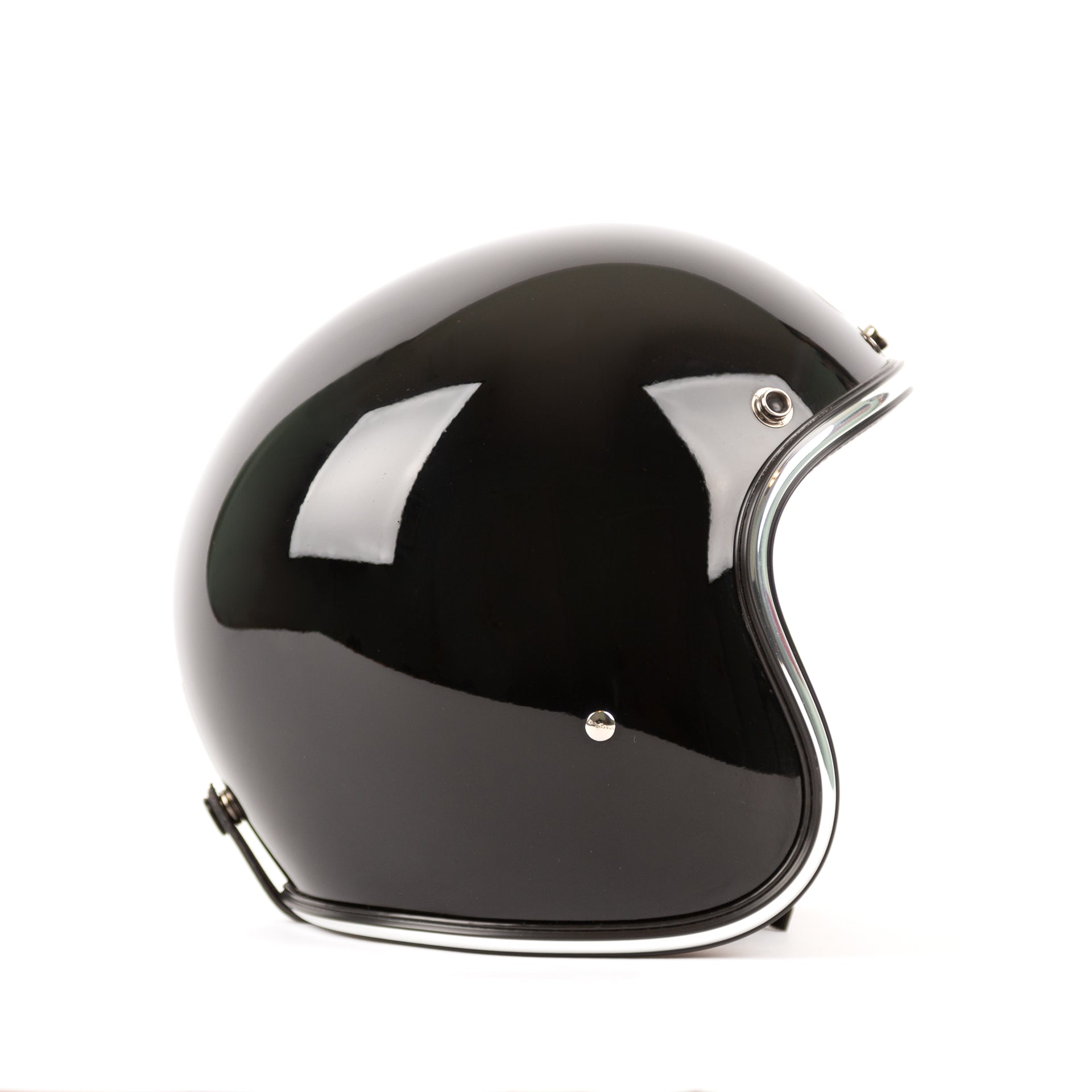 3/4 Novelty Helmet - Black - Apparel and Accessories - Prism Supply