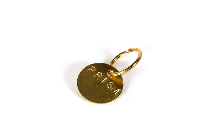Brass Prism Keychain - Apparel and Accessories - Prism Supply