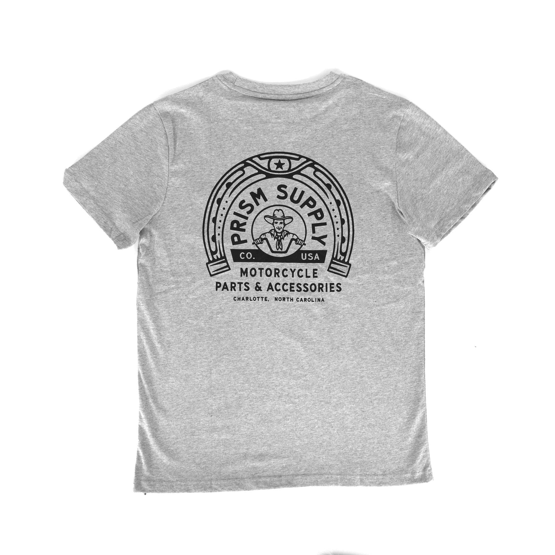 Honky Tonk Tee - Grey - Apparel and Accessories - Prism Supply